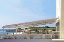 Tenda attico per esercizi commerciali - Vendita e installazione - Gedis Cesano Maderno, Monza e brianza