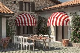 Tende a cappottina per attività commerciale - Vendita e installazione - Gedis Cesano Maderno, Monza e brianza