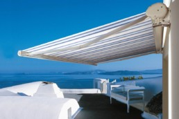 Tende da sole a bracci per terrazzi - Vendita e installazione - Gedis Cesano Maderno, Monza e brianza
