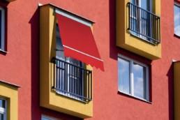 Tende da sole a caduta con bracci per finestre - Vendita e installazione - Gedis Cesano Maderno, Monza e brianza